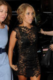 Hayden Panettiere leggy in lace black dress arrives at the Late Show with David Letterman in New York - Hot Celebs Home