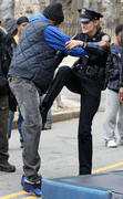 Лили Собески, фото 1170. Leelee Sobieski filming ''Rookies'' in NYC March 22, foto 1170