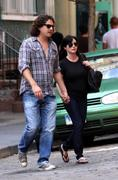 Shannen Doherty walking with boyfriend in NYC 7-31-2010