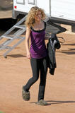 """AnnaLyne McCord on the set of """"90210"""" in Los Angeles - September 30, 2008"""